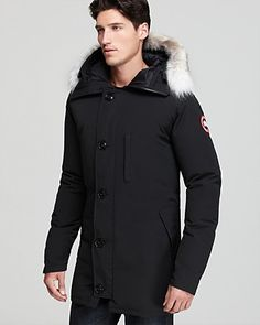 Canada Goose Parka, J Brand Ready-To-Wear Sweater Hudson Jeans Super Skinny Jeans available at Girl Outfits, Cute Outfits, Fashion Outfits, Fashion Tips, Fashion Trends, Casual Outfits, Fashion Models, Women's Fashion, Canada Goose Parka
