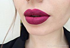 Малиновый друг Inglot HD Lip Tint Matte в оттенке 15