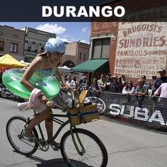 You may be hard-pressed to find more professional bikers per capita than right in Durango. And with all the killer trails and proximity to high-elevation road rides, it's no wonder why the sponsored set flocks to Durango.Image courtesy of Iron Horse Bicycle Classic - facebook.com