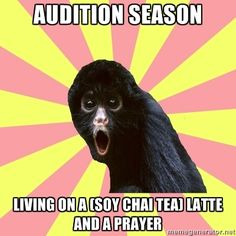 Musical Theatre Monkey (sneaky Next To Normal reference!!)