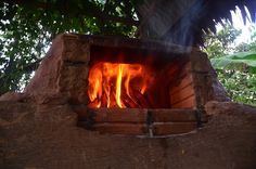 earth oven | test fire