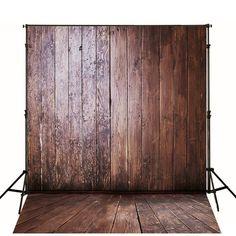 Custom Made Retro Background Wood Floor Old Wood by ArtBackground