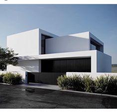 Architecture Design, Minimalist Architecture, Facade Design, Residential Architecture, Contemporary Architecture, Exterior Design, Villa Design, Contemporary Houses, Architecture Board