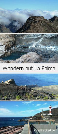 Wandern auf den Kanaren: Wir stellen dir in diesem Artikel 9 schöne Wanderungen auf La Palma vor.  Abwrechslungsreiche Wanderwege vorbei an Vulkanen, Steilküsten, Bananenplantagen, durch Wälder oder zu einer einsamen Schmugglerbucht.