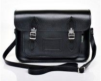 Black Leather Satchel - Zatchel Perfect as a Daddy Bag. Leather Satchel Handbags, Satchel Purse, Leather Purses, Black Leather Satchel, Leather Bag, Classic Leather, Real Leather, Metallic Leather, Black And White Baby
