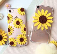 Sunflower Fur ball phone case