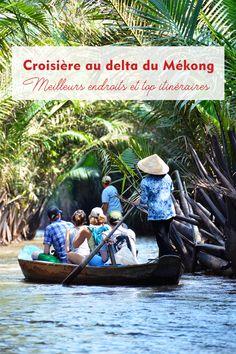 La croisière au delta du Mékong est absolument la meilleure façon pour découvrir cette région exotique au Sud du Vietnam. Voici les informations pratiques sur les meilleurs endroits et meilleures périodes pour une croisière au delta du Mékong, ainsi que des itinéraires idéaux à vous recommander. #vietnam #vietnamdecouverte #nature #voyage #visitevietnam #green #green #ig_vietnam #travel  #vietnam #travel #landscape #vietnamtravel#tourism #photography #destination #asia#southeastasia #indochina Delta Du Mekong, Destinations, Ainsi, Land Scape, Voici, Nature, Exotic, Travel, Naturaleza