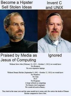 Dennis Ritchie > Ste...