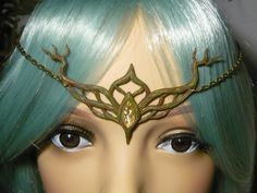 Oakelfs Crown - handsculpted Tiara by Ganjamira.deviantart.com on @deviantART