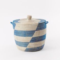Graphic Printed Oversized Basket | west elm