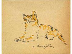 Miké, le chat de Foujita