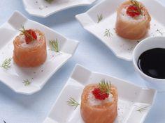 Sushi van gerookte zalm