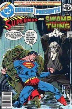 Superman Man of Steel Swamp Thing Solomon Grundy DC Comics Covers Superheroes Superhero