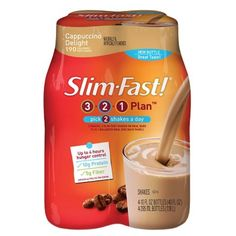 I'm learning all about Slim-Fast® Strawberries 'N' Cream Shake at @Influenster!
