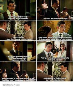 Agent Carter | Daniel Sousa sass