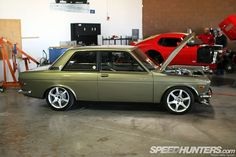 BRE Patches Datsun 510 240Z Sold by Peter Brock BRE