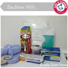 Bedtime with Arm and Hammer (with Giveaway of 2-3 Arm & Hammer Products AND a $100 Visa Card!)