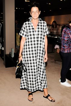 lucy chadwick in lisa marie fernandez (shop the look in the MDS Store) Look Fashion, Womens Fashion, Fashion Design, White Fashion, Mode Abaya, Inspiration Mode, Red Carpet Dresses, Celebrity Dresses, Street Chic