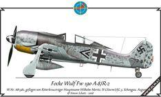 Focke Wulf Fw 190 A-8/R-8, flown by Wilhelm Moritz