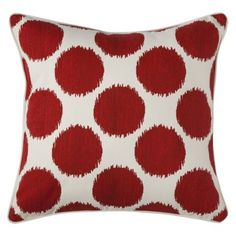 Sam and Jake's bed with the TH Demin Comforter? Mudhut™ Dot Decorative Pillow