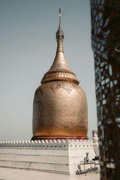 BAGAN GOLDEN SPIRE STUPA Bagan, Decorative Bells, Temple, Travel, Viajes, Temples, Destinations, Traveling, Trips