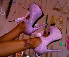 bow tattoo and cute shoes Stilettos, Pumps, Stiletto Heels, Bow Shoes, Cute Shoes, Me Too Shoes, Shoes Heels, Pretty Shoes, Beautiful Shoes