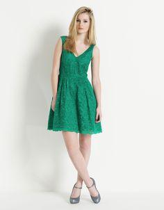 Monsoon - Emerald prom dress
