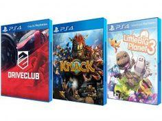Kit com 3 Jogos para PS4 - Sony