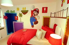 Basic Mario wall art for the young gaming generation.