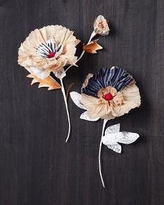 Paper flowers. #FlowerShop