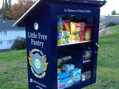 The Little Free Pantry is located in front of Whitman County Fire District 12 on West Main Street.
