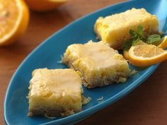 Lemon-coconut Bars by Betty Crocker.