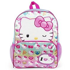 7859f94e88 Backpack Pre School Emoji Hello Kitty Wink 16