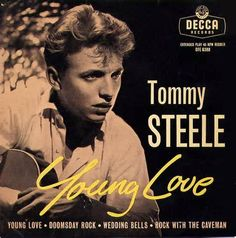 """tommy steele - first """"heartthrob """" ! Rare Records, Vinyl Records, Music Like, My Music, Rock And Roll, Tommy Steele, Old Rock, Vinyl Labels, Great Albums"""