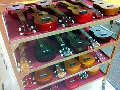 teaching my kiddos to play the ukulele! FUN!!!! I think I will be making a ukulele purchase VERY SOON!
