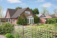 Detached luxury house. 4 bedrooms. Comes with landscape gardens and indoor swimming pool. Located in Executive House, Old Buckenham. http://www.fineandcountry.co.uk