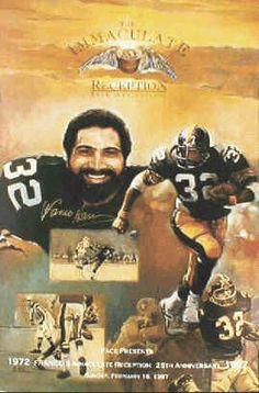 Franco Harris Pittsburgh Steelers Sports Art Print Poster