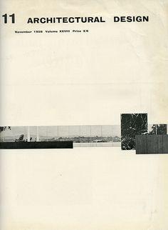 Mies van der Rohe. Architectural Design v.28 Nov 1958: cover | RNDRD