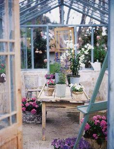 designer Kelly Harmon, how I miss a garden room