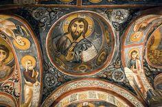 Karanlik Kilise (the Dark Church) in Nevsehir, Turkey Fresco, Early Christian, Christian Art, Tempera, Book Of Exodus, Mural Painting, Paintings, Cappadocia, Kirchen