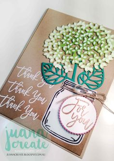 Juana Ambida | Thoughtful Branches | Crazy Crafters Blog Hop. #Thoughtfulbranches, #Stampinup, #Handmadecards,…