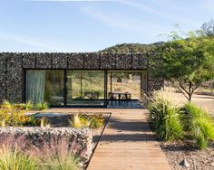 Today's Employer of the Day is Kevin Tsai Architecture. Click the image to see their current job listings. Project: Ojai House by Kevin Tsai Architecture in collaboration with Mckuin Design. Image courtesy of Kevin Tsai Architecture Green Building, Maine House, The Great Outdoors, Beautiful Homes, Exterior, House Design, Mansions, House Styles, Outdoor Decor
