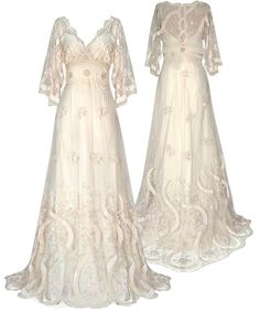 Wedding Dresses - Claire Pettibone I love this, and so does Joy. (of course.) :D