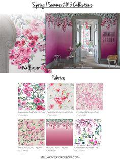 New Spring Fabrics Wallpapers-Stellar Interior Design.com