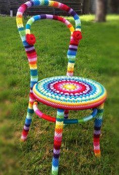 Rosa acessórios em tricô & crochê: ohhh... love this one!