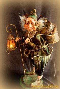 Image result for dwarf miner art doll