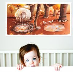 Secret by Fil Dunsky. Buy this beautiful giclée art from Falra on Etzy.  http://www.etsy.com/shop/Falra