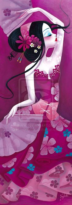Folie d'Eventails by ~LadySybile on deviantART
