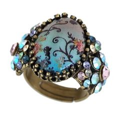 Victorian Style Michal Negrin Fashionable Ring