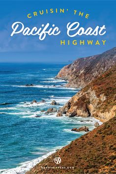 Turn up the tunes and take an all-American drive down the Pacific Coast Highway. My favorite drive! Cali girl all the way! Vacation Places, Vacation Trips, Dream Vacations, Vacation Spots, Places To Travel, Vacation Ideas, The Road, West Coast Road Trip, Pacific Coast Highway